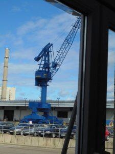 Verladekran im Ostuferhafen