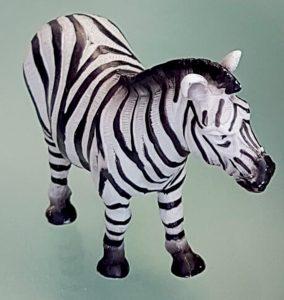 Zebra, das Maskottchen des THW-Kiel.