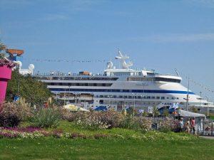 AIDA, Kiel-City und der Sommer am Bootshafen