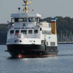 أثناء الطريق مع سفينة النقل البحري – كييل
