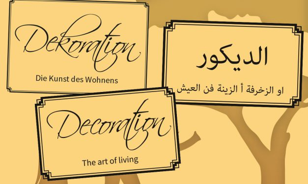 Decoration – The art of living
