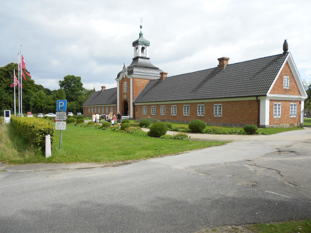 Der Eingang zum Museum