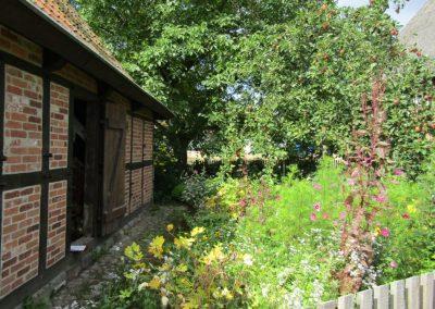 Der Garten des Steinofenbäckers