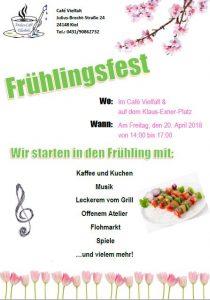 Frühlingsfest im Café Vielfalt